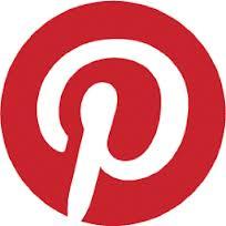 Pinterest logo for blog entry