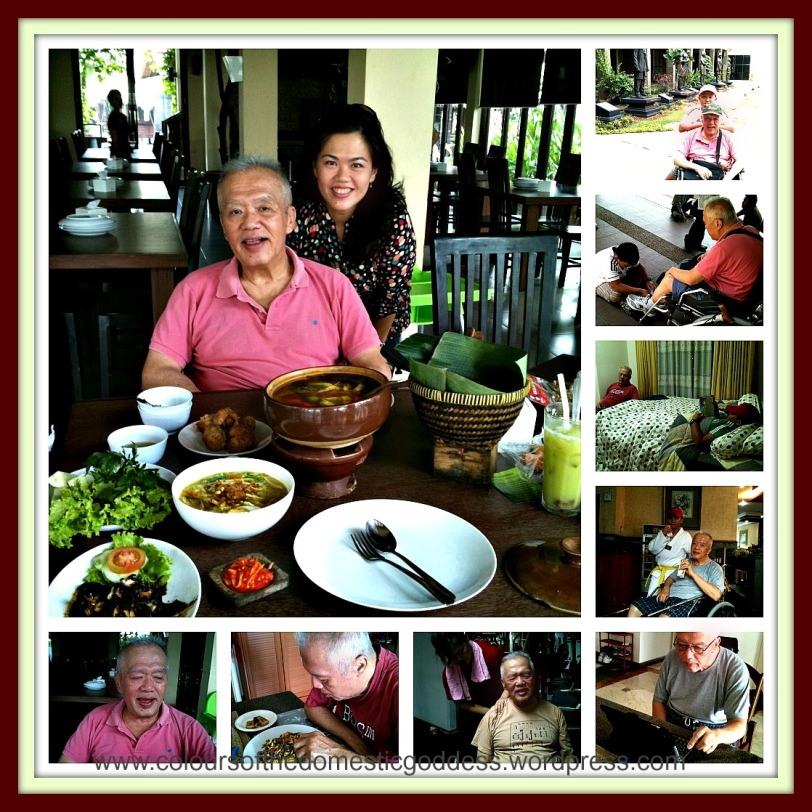 Things Dad likes to do in Jakarta Collage