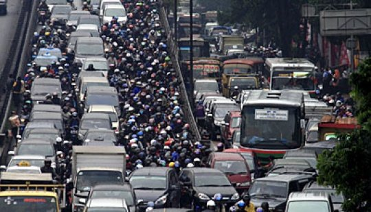 Macet in Jakarta