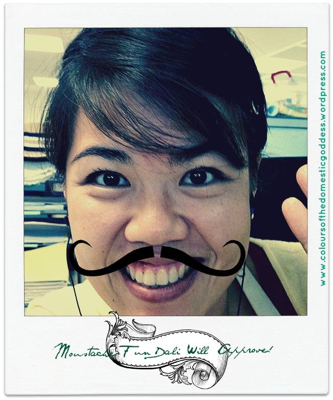 Dali Moustache Fun