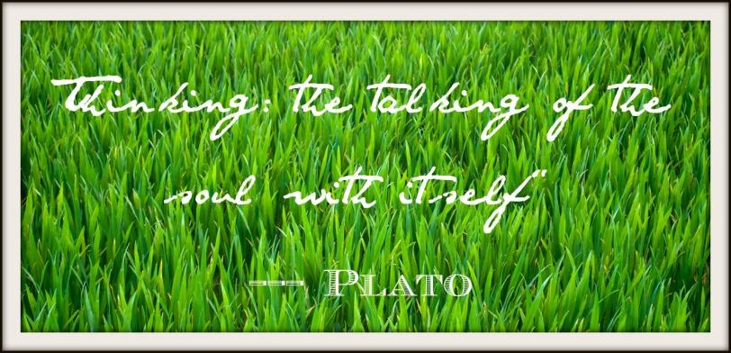 Plato on thinking