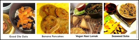 VegetarianFareCollage
